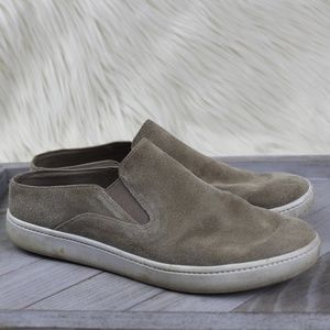 Vince Verrell Suede Slip On Mules Shoes 6.5